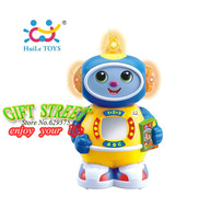HUILE 506 child music electric robot BABY toys child gift