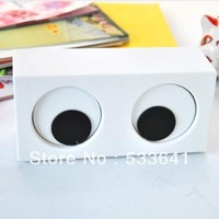 Free shipping fashion big glasses home clock eyes rotation clock brief clock