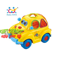 HUILE 516 fruit car music toy infant educational toys