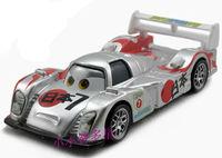 Free Shipping ORIGINAL PIXAR Cars 2 SHU TODOROKI with Metallic Finish Kmart Sliver metal Diecast toy