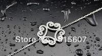 HMAB42185 jewlery women silver 925 anklets bracelets handmade gift