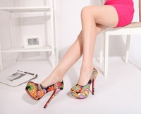 style perfection 14 823-a high-heeled shoes  ZG