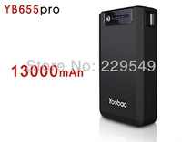 100% Authentic 2013 Hot Selling YooBao YB65 13000mAH Magic Box Power Bank Portable Charger For Mobile Phones,iPhone4/4S/5,iPad