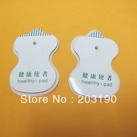 Hot selling! Free shipping 100pcs Healthy  Electrode Pads for Tens Acupuncture Slimming massager Digital Therapy Massager pads