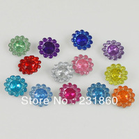 1000 X Assorted Colors Acrylic Bead For Jewelry Making Embellishments DIY Craft