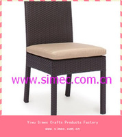 outdoor furniture rattan dining chairs SCRC-016