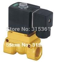 Free Shipping 1/2'' High Pressure Solenoid Valve High Temperature 5404-04 PTFE DC12V,D24V,AC110V or AC220V