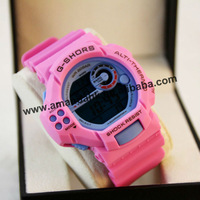 50pcs/lot new cretive design wrist watch wholesale,silicone watchband student watch,Electronic watch,free shipping.