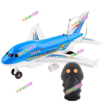 Verisimilar Radio Control Remote Control Airliner Aerobus Plane Airplane Toy for Kids Children