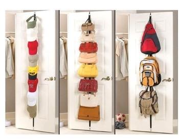 Japanese style adjustable vertical storage bag door storage door after the hanger storage multi-purpose hook
