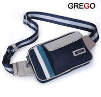Free Shipping, Grego male waist pack fashion outdoor sports bag chest pack female male package bag casual bag