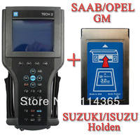 GM TECH 2 GM Tech2 pro Kit with TIS 2000 Candi 32MB crads gm tech2 diagnostic scan tool for GM Opel SAAB Isuzu Suzuki holden
