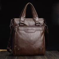 2013 male handbag casual bag male shoulder bag leather bags male  natural simple handbag