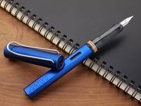 Ef fountain pen lamy al-star 028 sea blue fountain pen ink pen