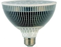 Free Shipping aluminum housing LED bulbs E27 12*1W 2700K -6700K CE RoHS