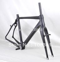 Hot selling full carbon fiber cyclocross frame FM058 paint 3k matt finish, include frame/fork/headset