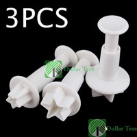 Free shipping: 3X Cake Sugar Sugarcraft Cutter Tool Plunger Star wholesale