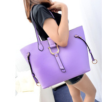 Buckle bag work bag one shoulder women's handbag 2013 messenger bag small bags