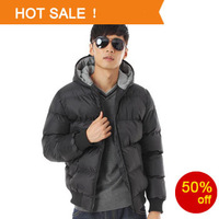 Men's Down Cotton Coats 2013 Winter  big Up plus Size XXXL Wear Thicken Outdoor Windbreaker Jacket Clothes 50% off Free Shipping