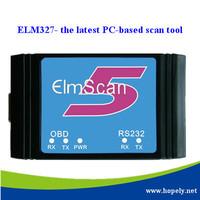 Free shiping OBD-II OBD2 ELM327 RS232