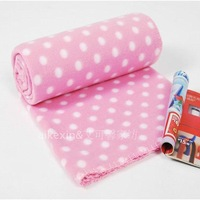 2013 spring & autumn ultra-soft bilayer velvet printed baby blanket towel kids air conditioning bed sheets 120*140 free shipping