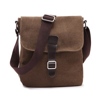 male small bag man casual messenger bag canvas