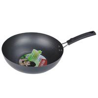 cast iron wok coating wok