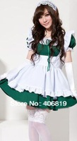 The new maid outfit anime cosplay party dress uniform temptation maid ds nightclub photo Send free