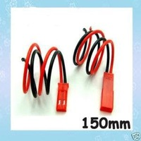Free Shipping 10pair/lot 150MM 15CM JST Connector Plug and Connect Cable for RC ESC LIPO BATTERY Wholesale
