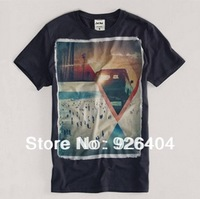 Hot SALE Free Shipping Men brand Summer T-Shirts Fashion 6 colours O-neck t shirt Casual Slim men tshirts 4size X-2XL