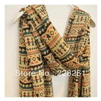 5  piece   Bohemian style chiffon scarves cartoon villain