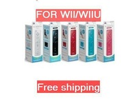 Free shipping in 5 Colors optional Wireless Remote Controller with Built in Motion Plus for Wii/WII U