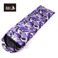 Sleeping bag adult sleeping bag outdoor camping sleeping bag indoor Camouflage travel sleeping bag