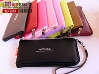 For nokia  cell phone pocket mobile phone bag mobile phone case cell phone protective faux leather holster case