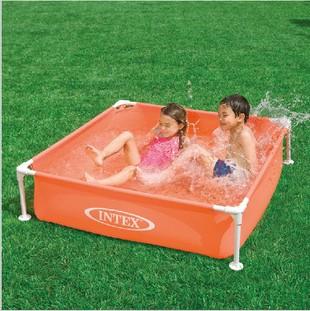 Ntex 57171 square tube rack pool infant inflatable paddling pool small swimming pool sand pool(China (Mainland))