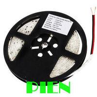 Waterproof LED Strip Light Flexible 3528 SMD IP65 300 LED 60LED/M 12V Ribbon Blue|Green|Red|Warm white Free Shipping 5M/lot