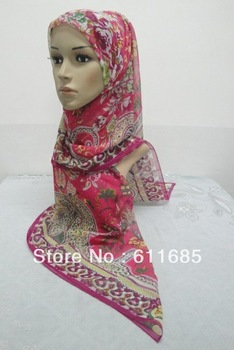 S432 big size muslim square scarf,printed hijab,fast delivery ,$15 off per $150 order