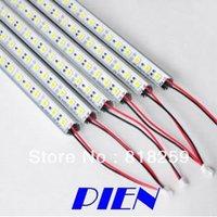 5630 LED Bar Rigid 5630 SMD 72 LED 1 meter Strip Light Hard Pixels Strip with Aluminium Profile Shell by Express 20pcs/lot