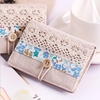 "Ms B667 small pure and fresh and lace flower card bag, card bag, ""women and men, doll, male, leather, Chevrolet, purse candy"