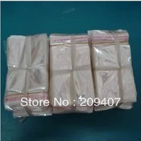 Hair Extensions Poly Bag (11.5x58cm) with white header and self adhesive seal & Free Shipping 5000/lot f