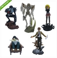 Orignal Box Brand New High Quality Japana Anime 5x Death Note L Misa Ryuk Night Yagami PVC Figure Set of 5PCS nice Gift
