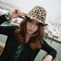 New Arrival 2PCS Korea Leopard Hats for Men and Women Fashion Lasting Leopard Summer Winter Caps Free Shipping Fashion Caps
