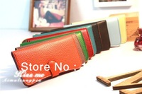 Free shipping 2013 hot selling fashion women buckle Long Wallet, cheap price, high quality, multi-color for your choice