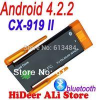Quad core Rk3188 CX-919II CX 919 II mini pc Dual wifi antenna android 4.2.2 bluetooth built in google android tv stick CX-919 II