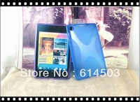 for google new nexus 7 ii 2 tpu x line case free shipping