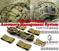 Ops fast pj bj tactical helmet War Sport War Bungee Accessory Management System