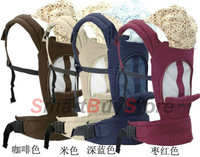 2013 new design fashion breathable baby carrier, mesh fabric sandwich baby slings and wrap baby backpack 4 colors available