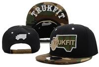 2013 new trukfit black/camo baseball snapback hats and caps for men sports hip pop cap adjustable cotton cadet flat brim hat