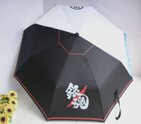 Umbrellas Windproof  black-and-white digital three fold  folding umbrellas  umbrella Free shipping NEW
