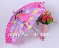 Free shipping Explorer Dora children umbrella new design, 1pc